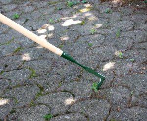 Couteau désherbeur à dalles