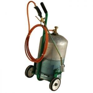 désherbeur à gaz